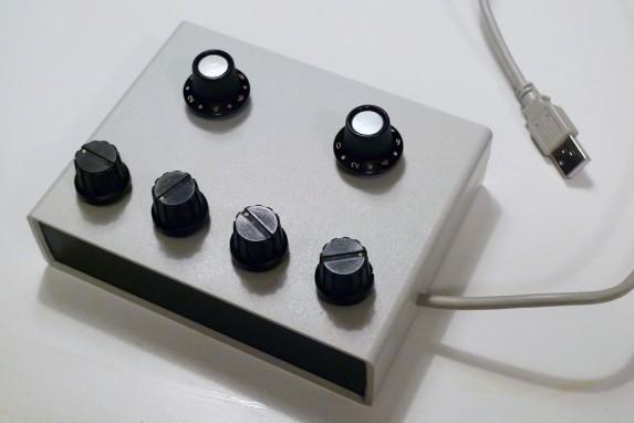 Arduino sliders
