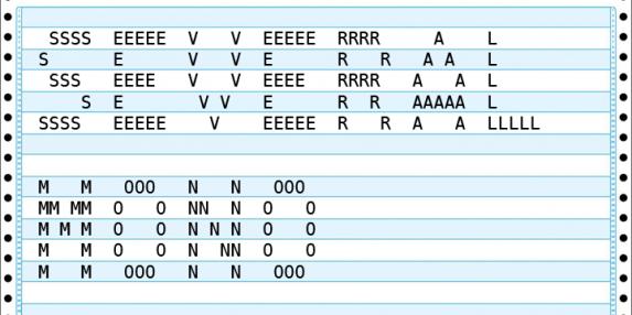 Several Mono typeface