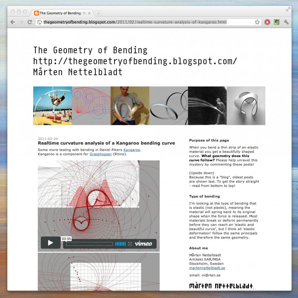 Bending blog
